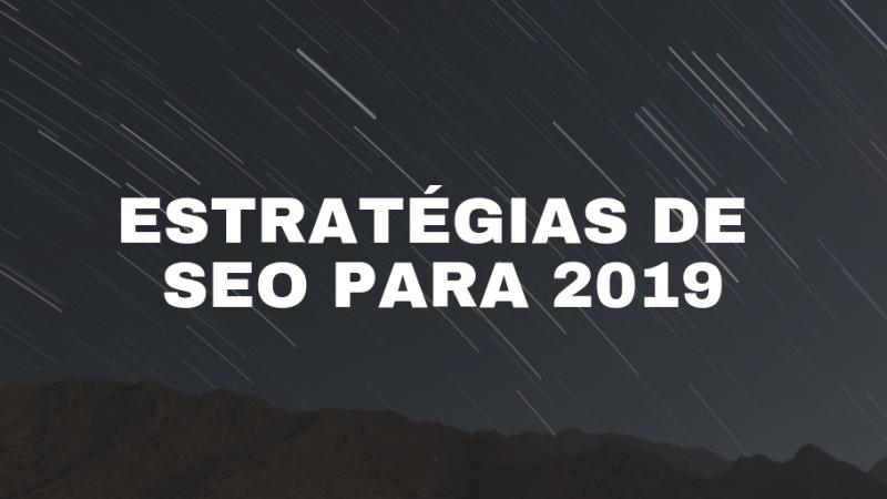 estrategia seo para 2019