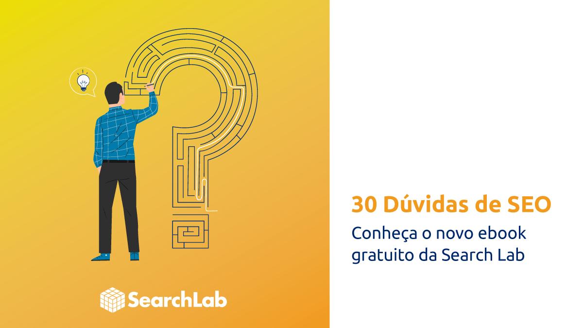 Ebook de seo gratuito escrito por especialistas responde as dúvidas de gestores de projetos e gerentes de ecommerce